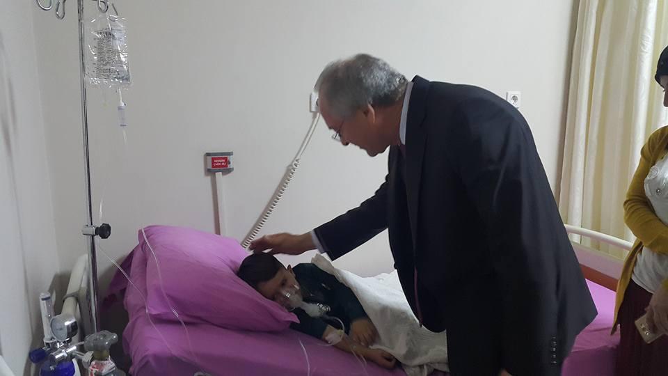 Başkan Osman BEŞEL, Hastaları Ziyaret Etti