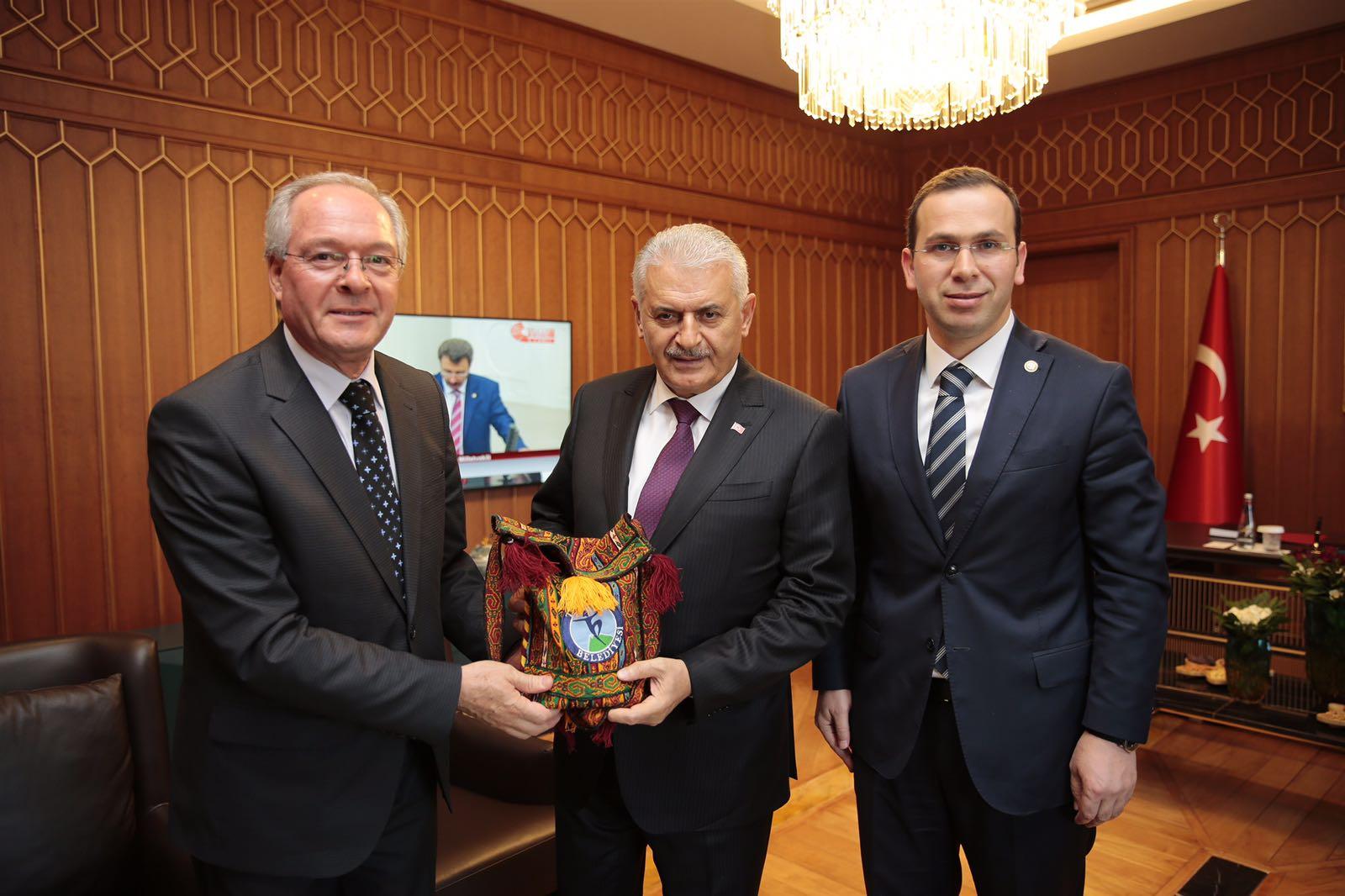BEŞEL, Başbakan Binali YILDIRIM ile Görüştü