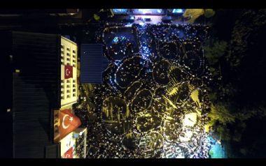 Tonya Tereyağı Festivali Hava Görüntüleri